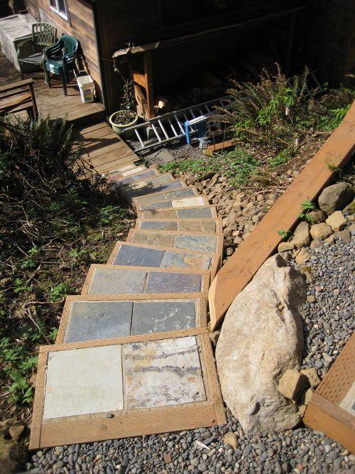 Raised Vegetable Garden On Concrete